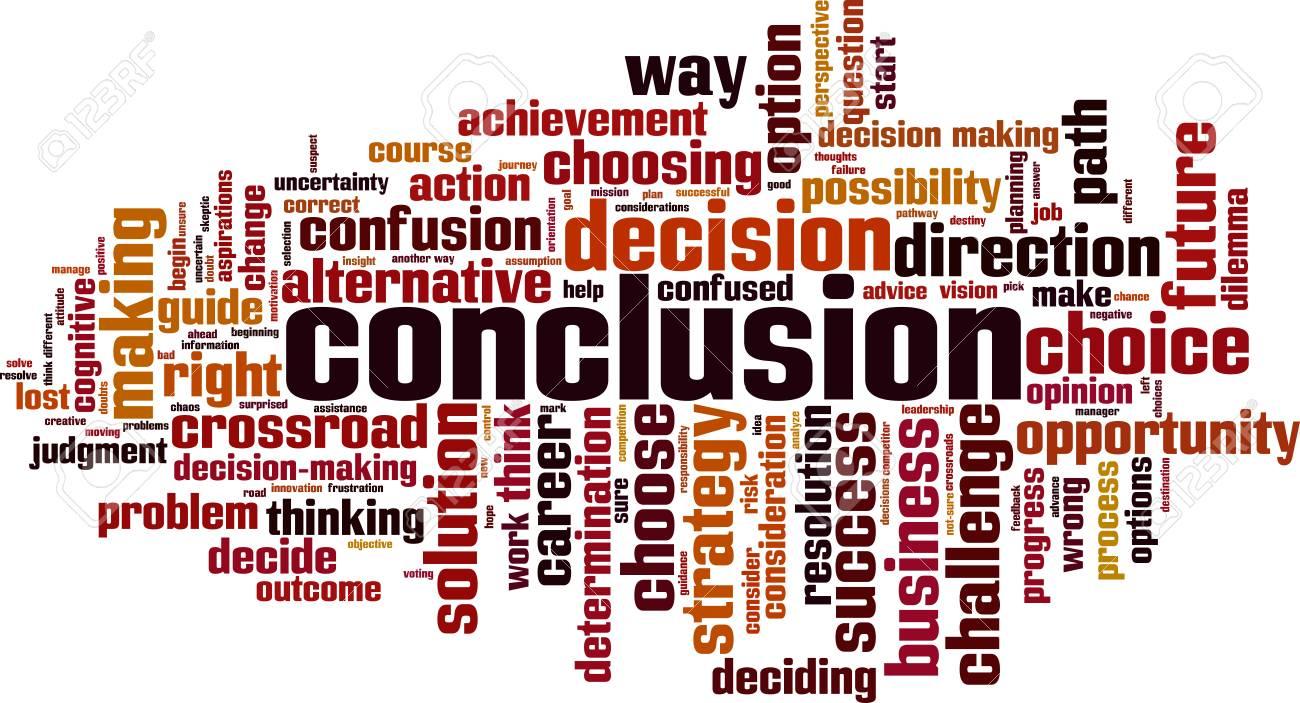 Make a Conclusion